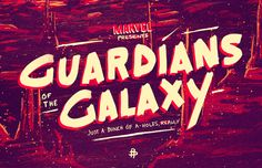 Guardians of the Galaxy x Poster Posse on Behance