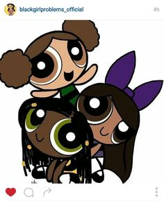 Black Power a Puff girls