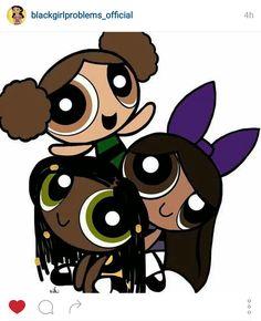 Black Power a Puff girls