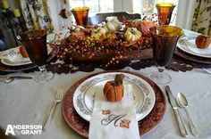 anderson + grant: Setting a Table for Fall