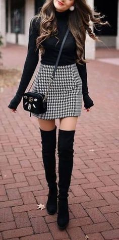 Are you looking for stylish and trendy outfits? Are you looking for stylish and trendy outfits? 1 online store for women outfits & accessories! We offer inexpensive and elegant. Cute Outfits For School, Cute Fall Outfits, Fall Winter Outfits, Spring Outfits, Winter Fashion, Casual Outfits, Spring Clothes, Fall Outfit Ideas, Black Skirt Outfits