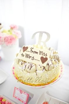 How to Choose the Best Bridal Shower Cake Sayings Tea Party