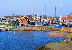EuroTravelogue™: The Splendor of the Seaside Village of Marken in The Netherlands