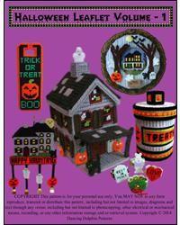 Halloween Leaflet Volume - 1***New pattern. Released 7/2014***