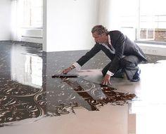 Fußboden Fliesen Streichen ~ Fliesen streichen mit kreidefarbe interior fliesen