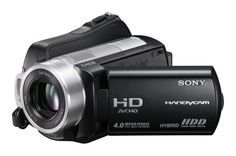 Sony HDR-SR10 4MP 40GB High Definition Hard Drive Handycam Camcorder with 15x Optical Image Stabilized Zoom by Sony. $899.00. From the Manufacturer                From the Manufacturer The HDR-SR10 Handycam camcorder delivers everything you need to shoot stunning Full HD 1920 x 1080 resolution video and 4 megapixel still images. With Hybrid recording technology, you can record to either an internal 40GB hard disk drive or removable Memory Stick Duo or Memory Stick P...