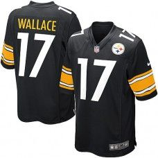 32b2633c3 NFL Youth Limited Nike Pittsburgh Steelers  17 Mike Wallace Team Color  Black Jersey 69.99 Football