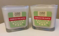 2 YANKEE CANDLE COOKIES FOR SANTA 2-WICK CANDLES - 8.75 OZ Each | eBay
