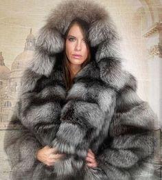 Nadire Atas on Fur Fashion, News, Photos and Videos - Vogue Fur Fashion, Fashion Photo, Fashion News, Fabulous Furs, Fox Fur Coat, Fur Jacket, Fur Hats, Autumn Winter Fashion, Coats For Women
