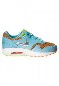 Rabat Nike Air Max 1 Dames Hardloopschoenen Lichtblauw Oranje Zilver Wit Fluorescerend Groen Ontwerpen