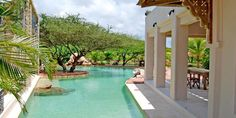 The Majlis Hotel: Luxury Beach Resorts In Kenya East Africa   Pool Side Bar Lamu Kenya