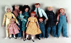 Cloth Doll Patterns by Barbara Graff