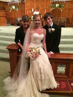 Bride, Groom & designer
