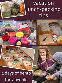 Do you make your own meals while you're on vacation? Check out these great tips!