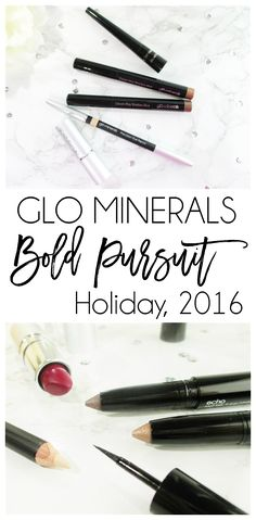 Vibrant Holiday Eyes and Lips with Glo Minerals Bold Pursuit  *PR