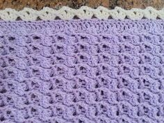 In this video you will learn how to crochet this beautiful Precious Angel Baby Blanket, part of a set that includes the baby blanket, Dress, and Bonnet
