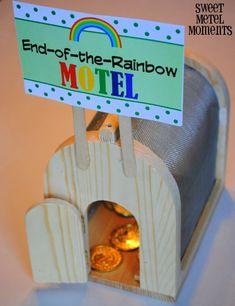 Sweet Metel Moments: Free Printable - Leprechaun Trap Signs