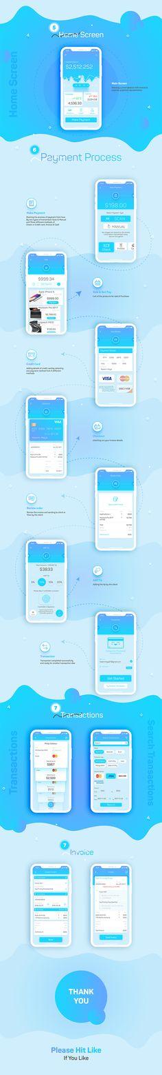 #app #design #inspiration #bank #finance #flint #home screen #invoice #ios11 #iphone x #payment #transaction #wallet