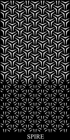 The Spire Gradient Decorative Panel has a pattern thats perfect for those who are all about shape and flow. This design gradually changes size and formation creating a truly intriguing decorative screen panel Geometric Tattoo Pattern, Geometric Mandala Tattoo, Geometric Sleeve, Geometric Pattern Design, Geometry Pattern, Mandala Tattoo Design, Graphic Patterns, Geometric Designs, Tattoo Designs