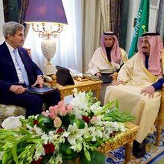 John Kerry meets with Saudi King in Riyadh (320679)