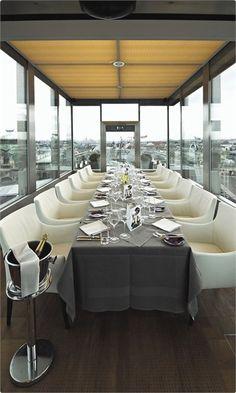 DO & CO Hotel Vienna, Austria designed by Hans Hollein, FG stijl Architects