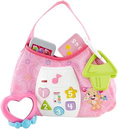 Amazon.com: Fisher-Price Laugh & Learn Sis' Smart Stages Purse: Toys & Games