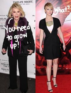 Joan Rivers has another response for Jennifer Lawrence!
