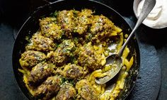 Yotam Ottolenghi& meatball recipes Beef meatballs with lemon and celer. Yotam Ottolenghi, Ottolenghi Recipes, Baked Turkey Burgers, Celeriac Recipes, Beef Meatball Recipe, Beef Recipes, Cooking Recipes, Spicy Recipes, Fall Recipes