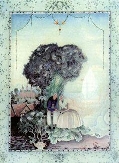 Fairy-tales of Hans Christian Andersen Illustrations by Kay Nielsen - The Elder Tree Mother