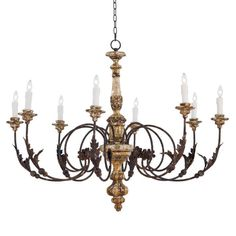 Interior HomeScapes offers the Florence Chandelier by Regina Andrew Design. Visit our online store to order your Regina Andrew Design products today. Large Chandeliers, Antique Chandelier, Rustic Chandelier, Chandelier Lighting, French Chandelier, Farmhouse Chandelier, Kitchen Chandelier, Dining Lighting, Antique Lamps