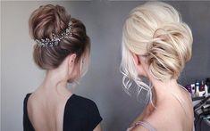 Tonyastylist Wedding Updo Hairstyles for Bride | Deer Pearl Flowers