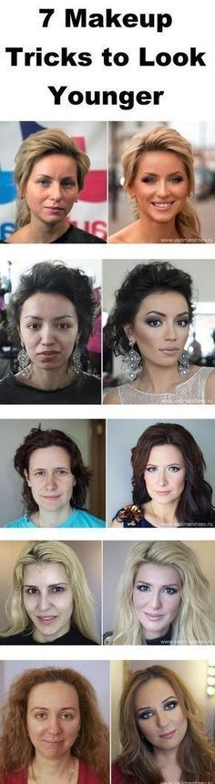 makeup look younger