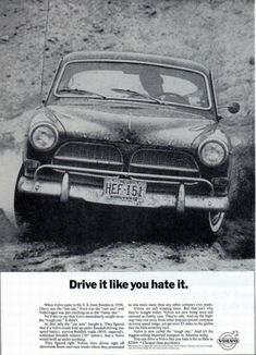 VOLVO. Maybe the best head line ever.
