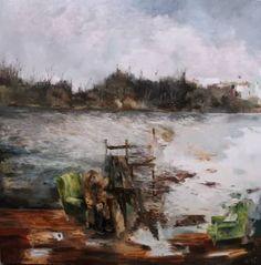"Saatchi Art Artist Magdalena Lamri; Painting, ""Lethe"" #art"