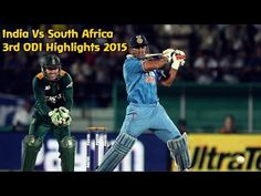 India Vs South Africa 3rd ODI Highlights 2015