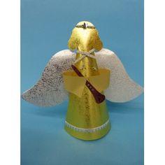 Engel falten | Eine schöne Bastelanleitung gratis für die Weihnachtszeit