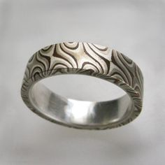 Mokume Gane style ring.
