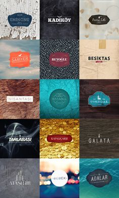 Various Logos | #corporate #branding #creative #logo #personalized #identity #design #corporatedesign < repinned by www.BlickeDeeler.de | Have a look on www.LogoGestaltung-Hamburg.de