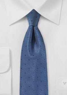 Krawatte leichtblau Punkt-Pattern