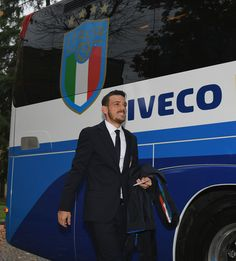 Alessandro Florenzi of Italy at Coverciano before a World Cup qualifying match against Sweden on November 9, 2017 in Florence, Italy.