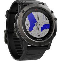 Garmin fenix 5X Sapphire Edition Multi-Sport Training GPS Watch : $699