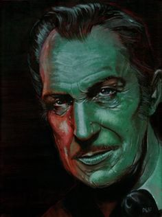 Vincent Price 11x17 Digital Print by dwfrydendall on Etsy, $20.00