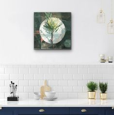 Jeannie Kinsler: A Protea: fine art | StateoftheART Clouds Hill, Long Shadow, Pebble Painting, Canvas Size, Original Artwork, Fine Art, Visual Arts
