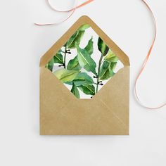 Hey, I found this really awesome Etsy listing at https://www.etsy.com/listing/194253849/watercolor-leaves-envelope-liner-diy