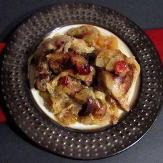Cranberry Cabbage Apple Chicken IP