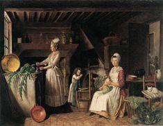 Musée Réattu - Arles - l'entourage du peintre, antoine Raspal, le peintre des arlésiennes