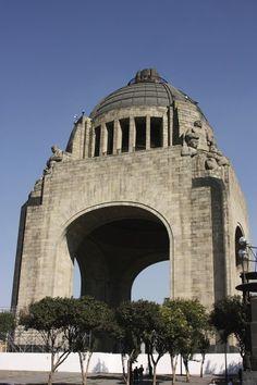 Mexico City,monumento a la revolución.