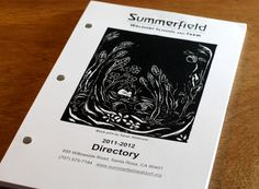 directory with drilled holes