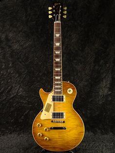Gibson Custom Shop HISTORIC SELECT 1959 Les Paul Reissue Left Handed Green Lemon