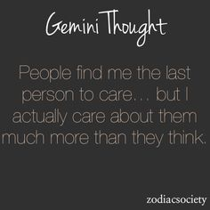 Gemini - I don't usually post things like this, but it is a valid thought.